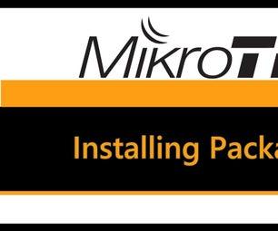 MikroTik Tutorial 5 - Installing Packages
