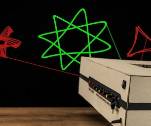 HOW TO MAKE ADVANCED LASER PROJECTOR