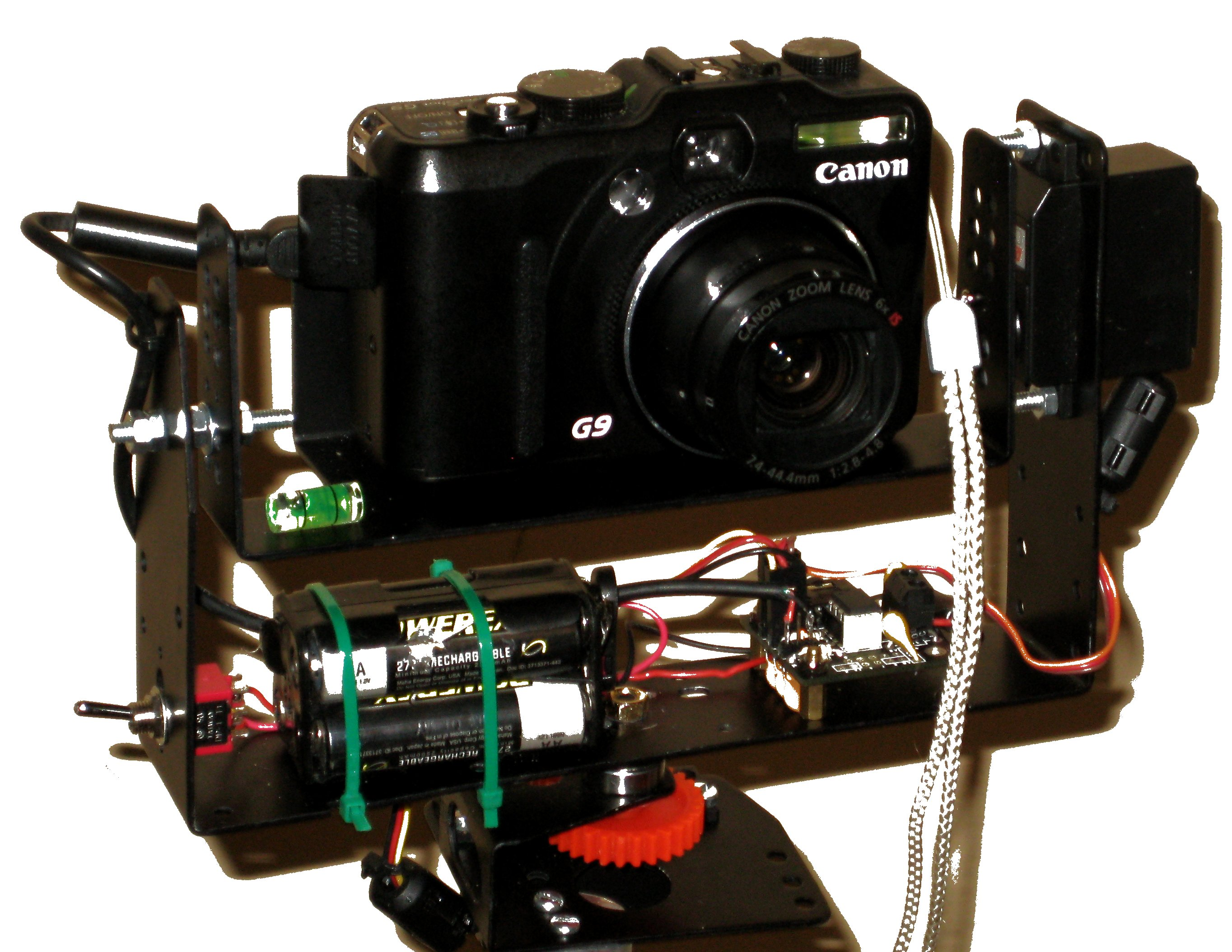 Camera Panorama robot head (panograph)