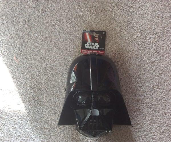 How to Make a Cheap Darth Vader Mask