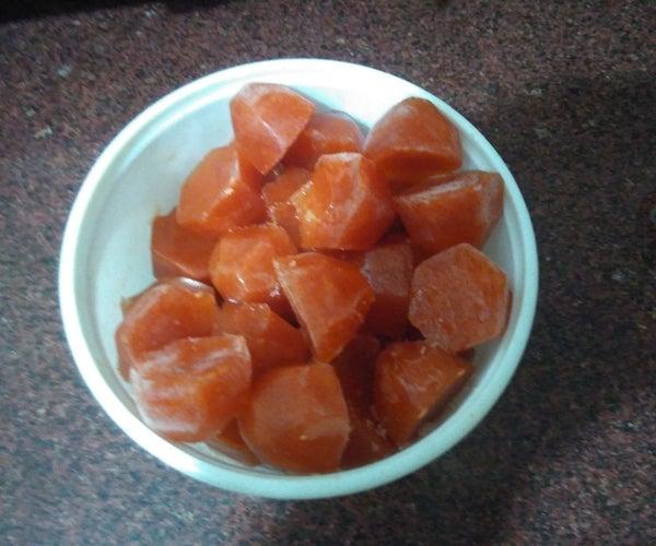 Homemade & Long Lasting FrozenTomato Puree