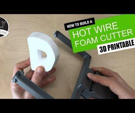 DIY - Battery Powered Hot Styrofoam Cutter