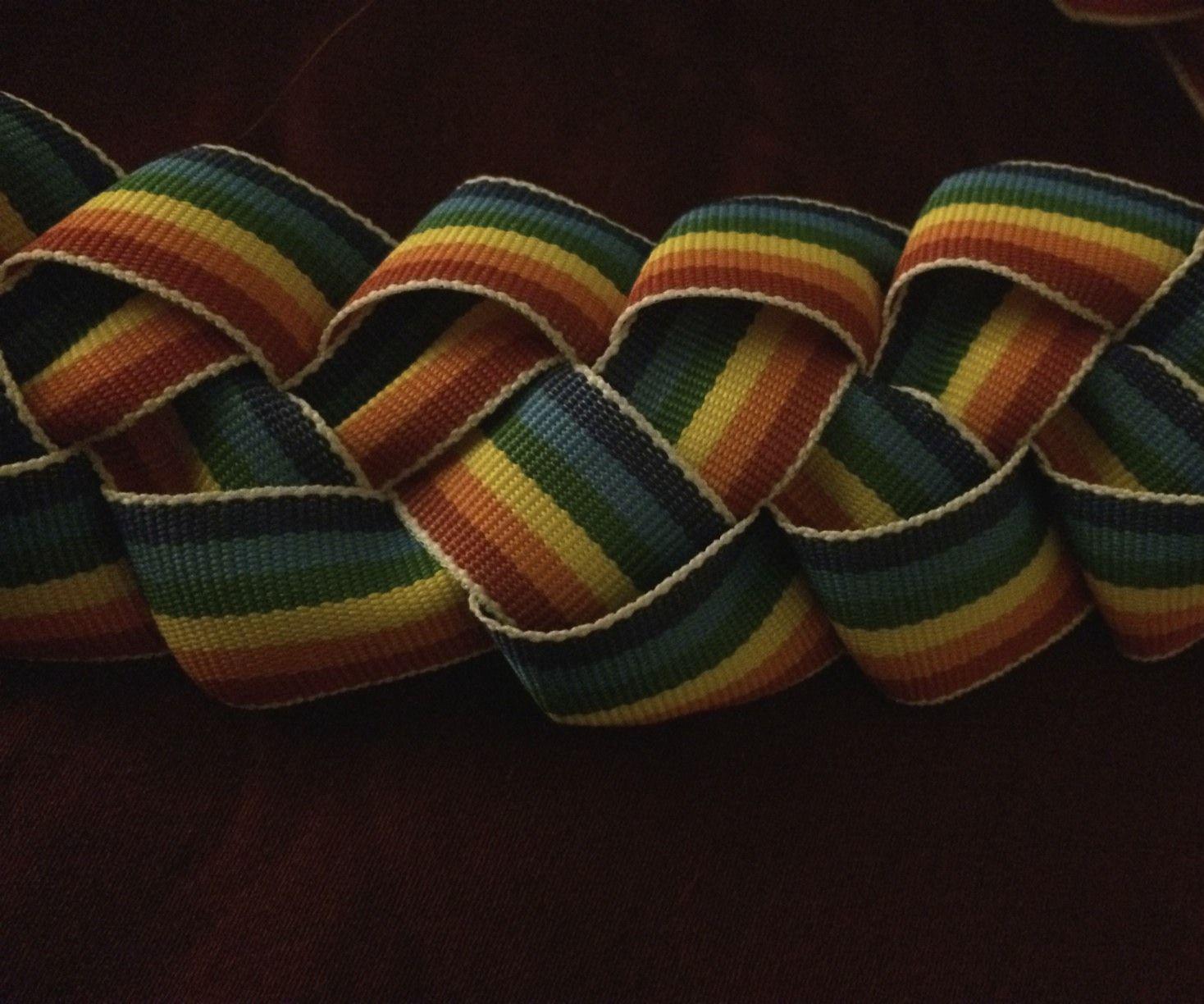 DIYS Ribbon Lei & Head Piece
