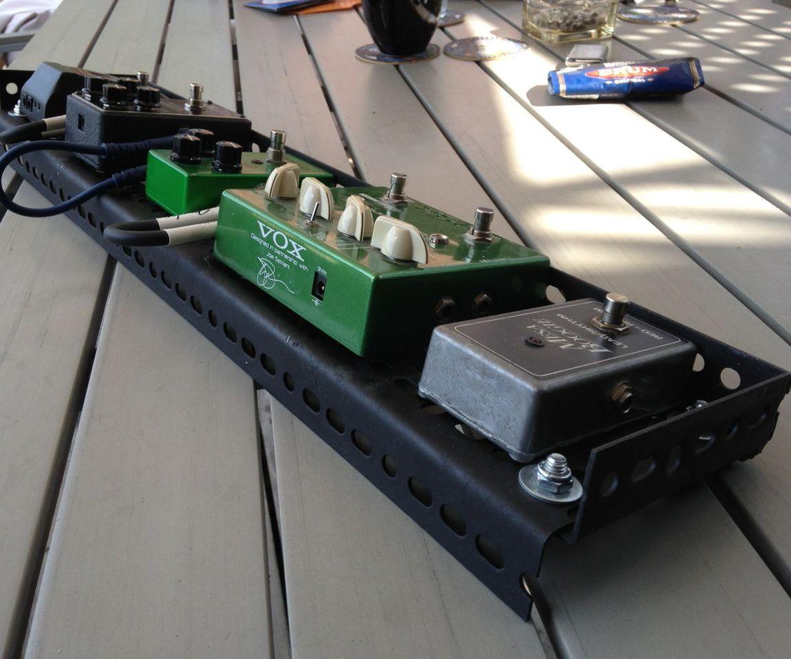 """Guitar Effect PedalBoard """"The Rick-Rack"""""""