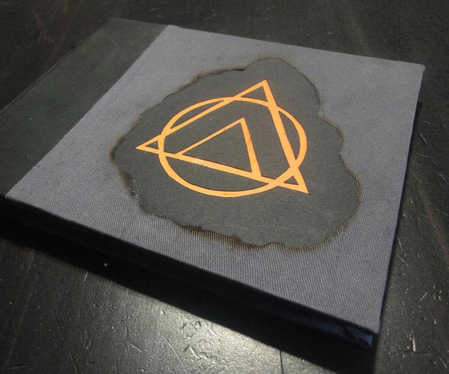 Burnt Sketchbook