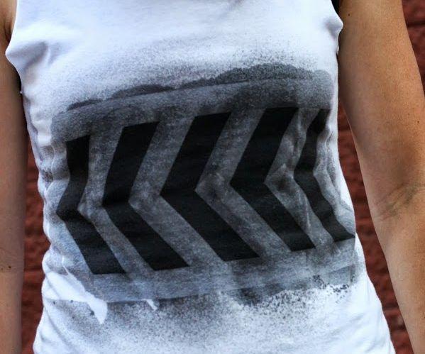Graphic Design Refashioned T-Shirt