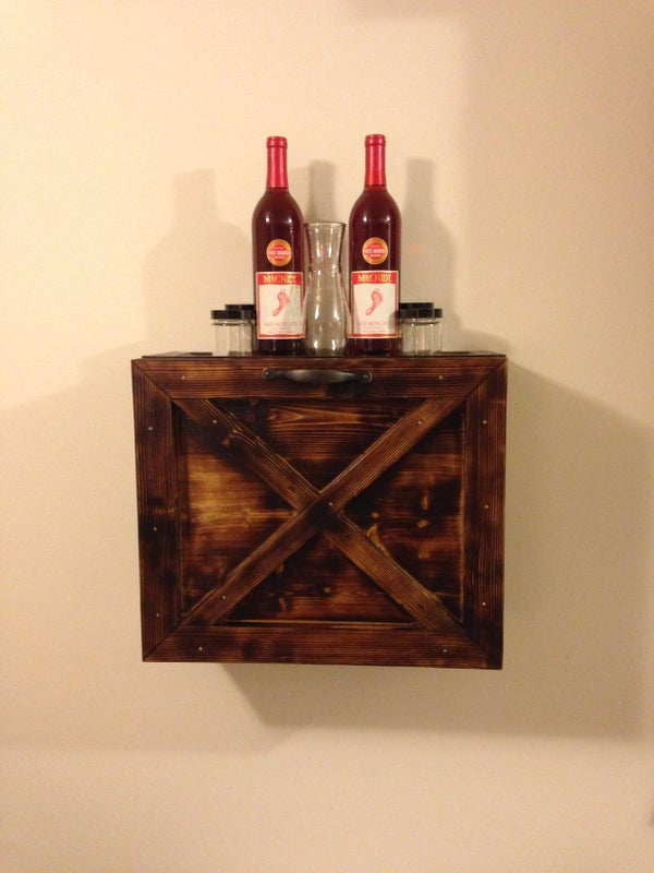 Wall Mounted Mini Bar