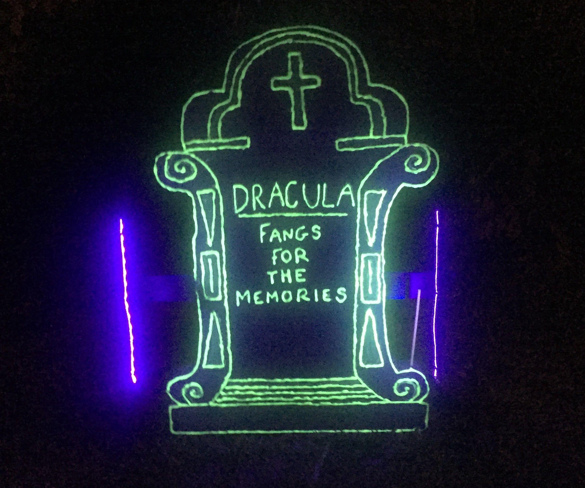 Glow in the Dark Tombstone