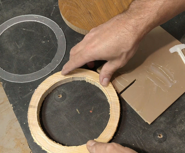 Gluing the Empty Circles - 2