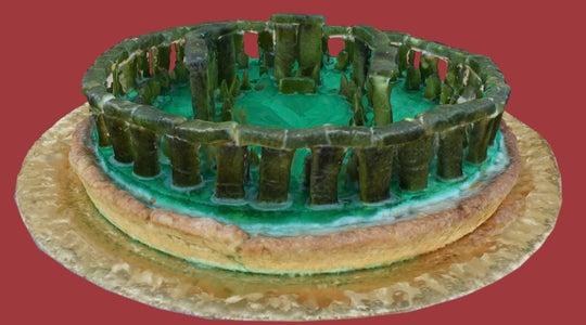 Stonehenge Pastiera Pie - Make 3D Photogrammetry