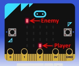 Microbit MakeCode Space Invader