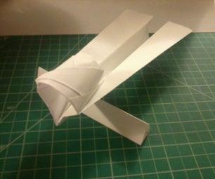 Stiletto Paper Airplane
