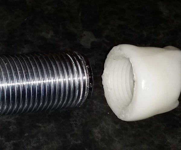 Replace Any Plastic Nut or Screw Thread With Instamorph