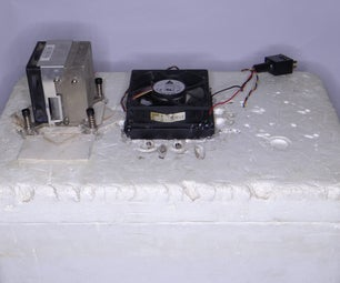 DIY Peltier Beverage Cooler Box