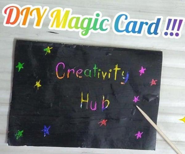 DIY Magic Scratch Card ✨