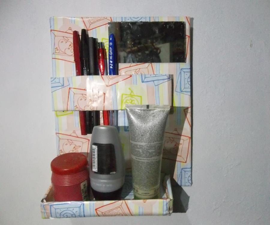 DIY Cardboard Stuff Organization