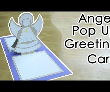 Angel Greeting Pop Up Card