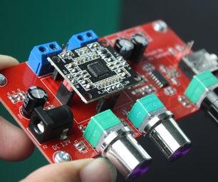 PAM8610的音调控制