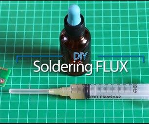DIY Soldering Flux