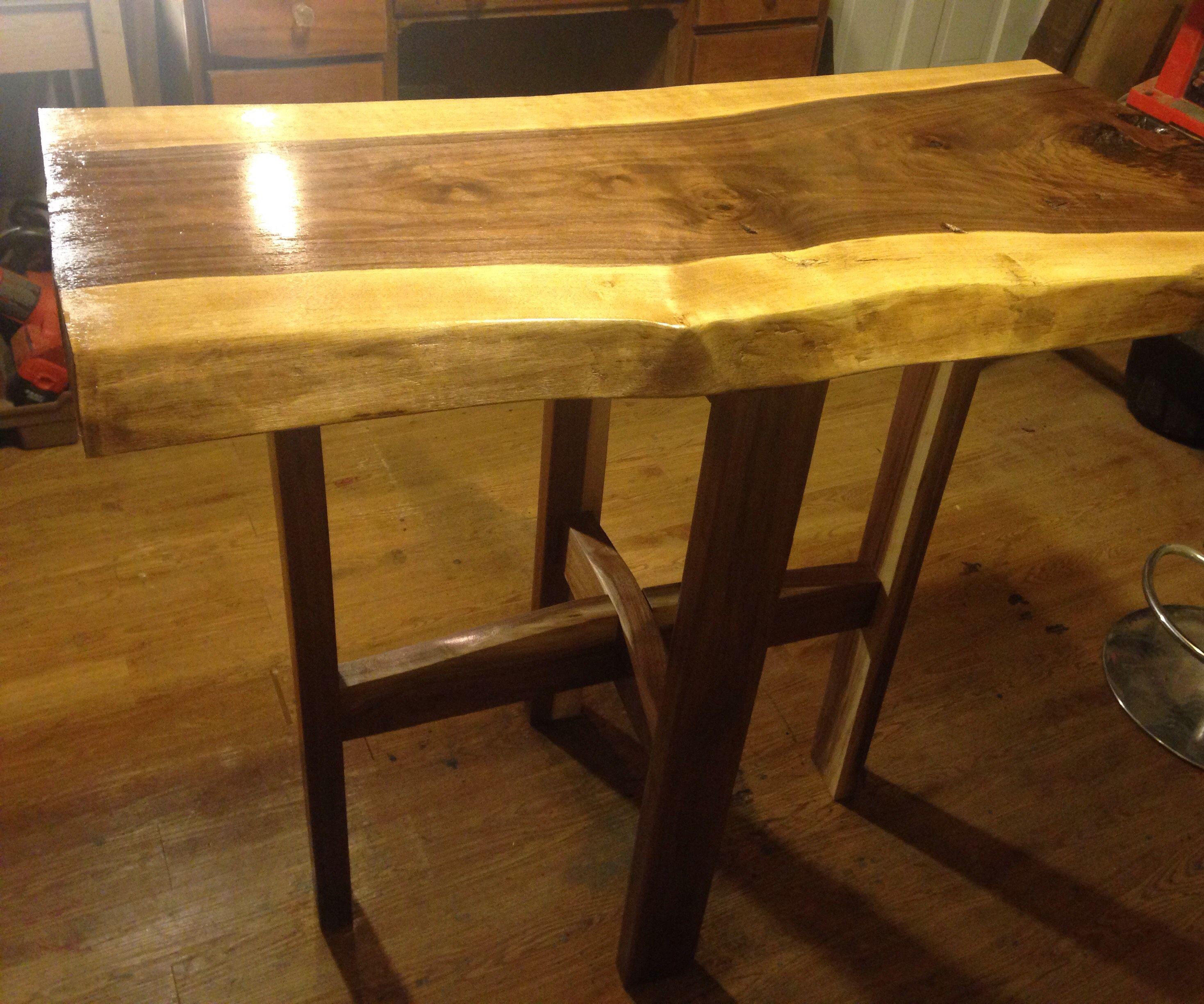 Walnut Breakfast Table