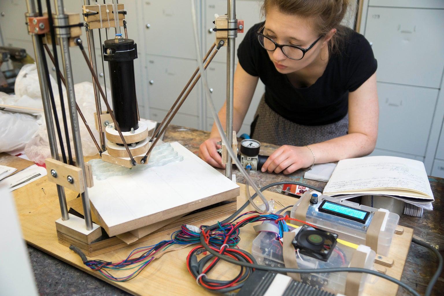 Preparation of Delta 3D Printer