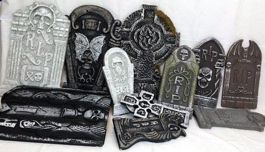Foam Gravestones