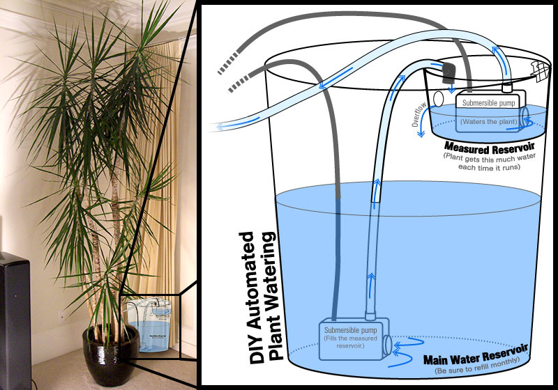 Automatic Plant Watering Device (simple version)