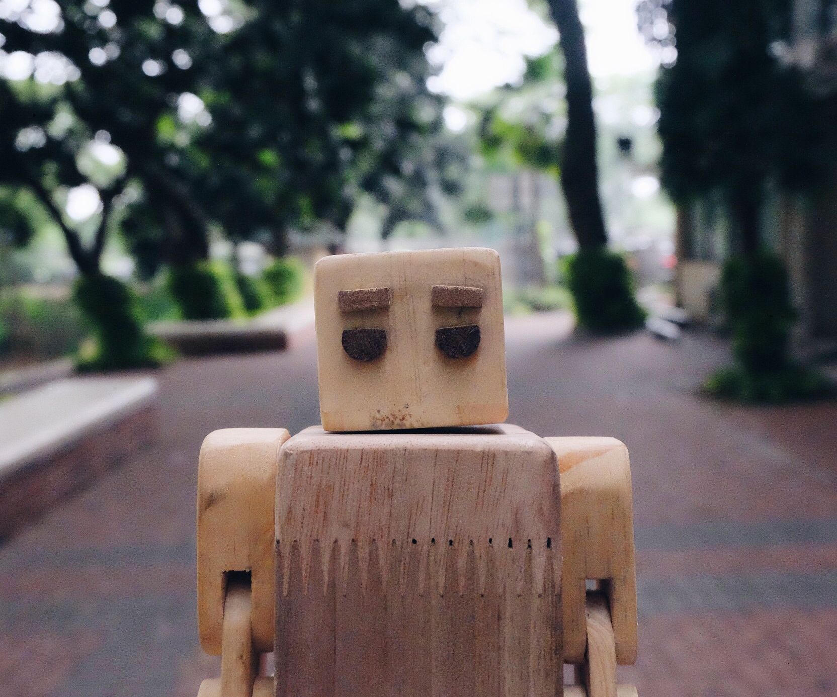 Wooden robot [MR TIPSY]