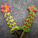 Rainbow Loom, Flower Pencil Hugger