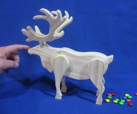 Pooping Reindeer Candy Dispenser