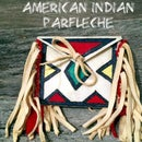 Mini American Indian Parfleche Made From Dog Chew