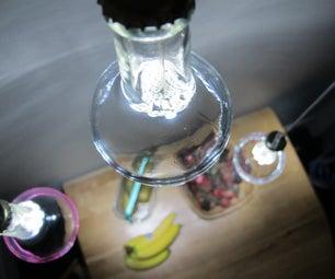 Stylish Half-bottle LED Lights