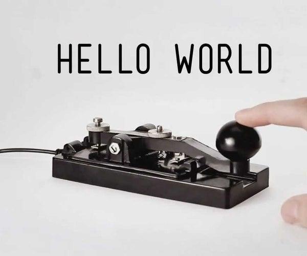 Morse Code Messenger