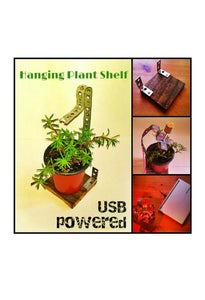 USB Plant Shelf, the Perfect Office Companion