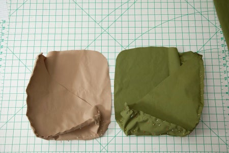 Pin and Sew the Shell and Lining Pieces