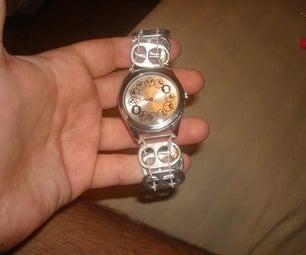 Stretchy Pop Tab Watch
