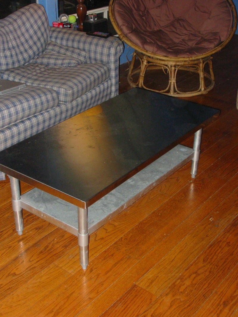 Stainless Steel Work Table Coffee Table