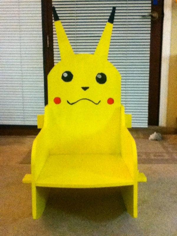 Pikachu Kid's Rocking Chair