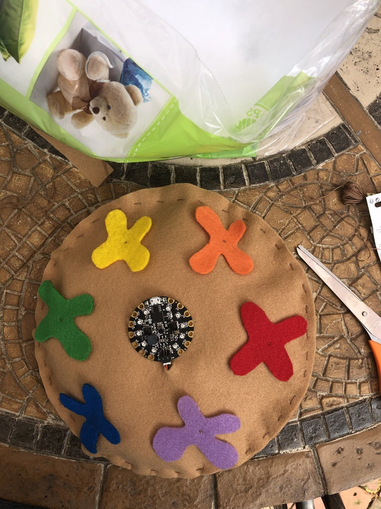 Step 2: Sew Your Interactive Color Wheel Together