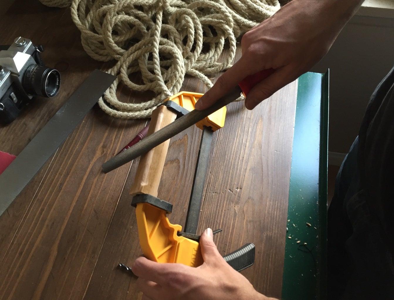 Wood Handle Finish
