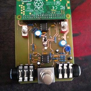 Raspberry Pi Zero Guitar Pedal