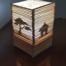Lamp With Ice Cream Stick