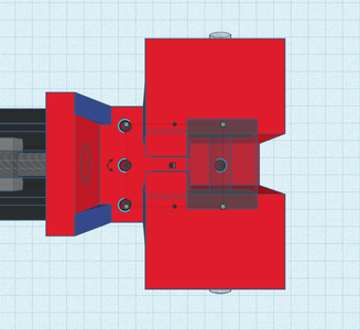 Design Process - Stationary Grip - Mounting Holes