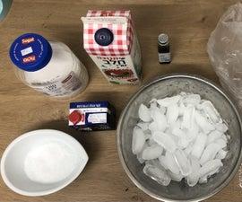 15 Minutes Homemade Ice Cream!