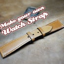 Leather watch strap tutorial