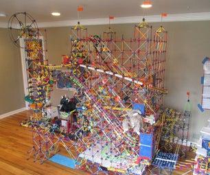 K'nex Ball Machine: Grid Tower II (Pictures)