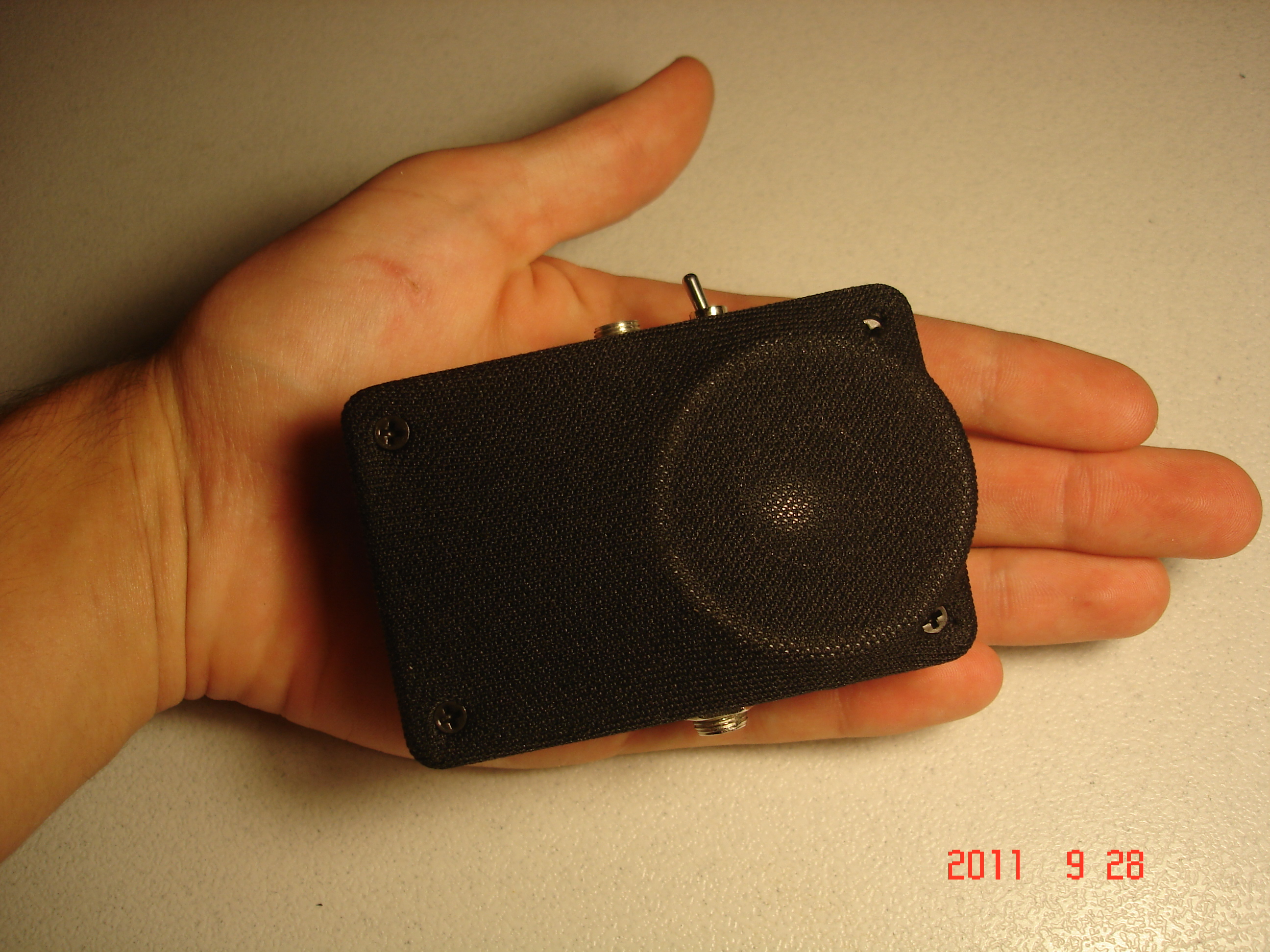 Pocket Sized Guitar Amp