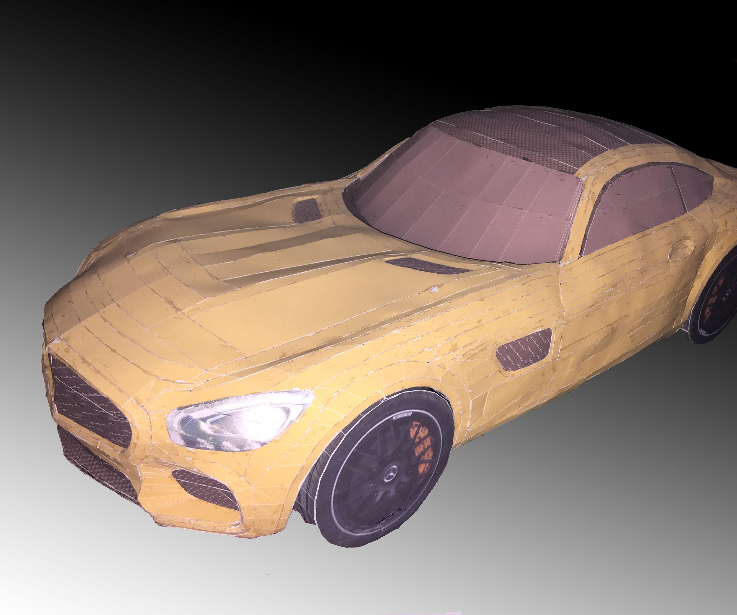 AMG GT PAPERCRAFT