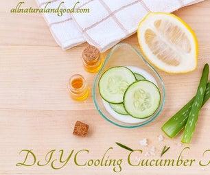 DIY Cooling Cucumber Toner