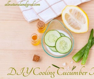 DIY Cooling Cucumber Toner